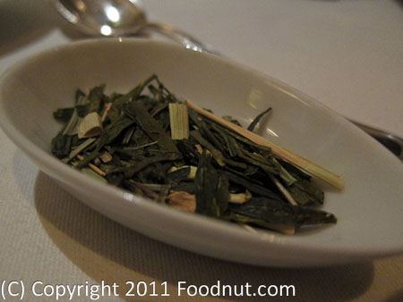 The French Laundry Yountville Zen green Tea