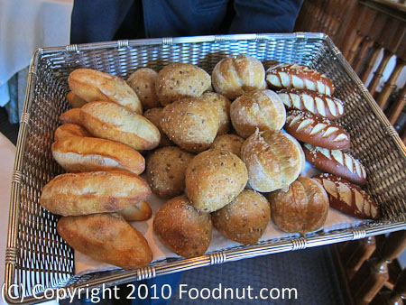 The French Laundry Yountville bread basket
