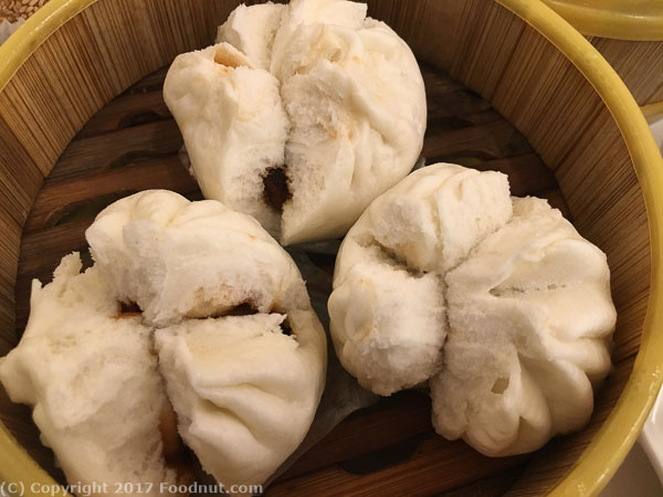 The Kitchen Millbrae Dim Sum Lunch Steamed pork buns