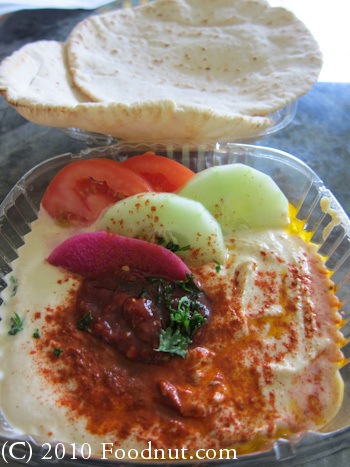 The Original Falafels Drive In San Jose hummus pitas