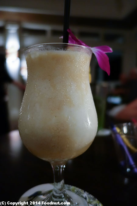 The Plantation House Kapalua Maui House colada