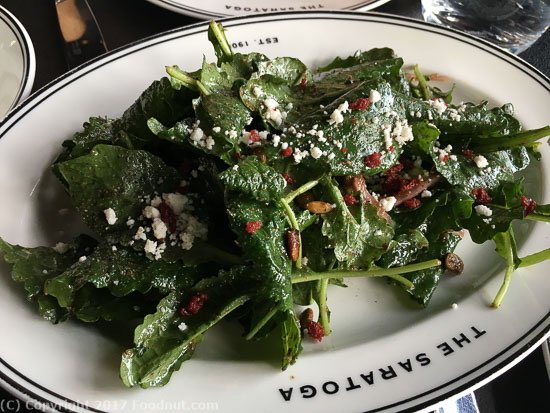 The Saratoga San Francisco kale salad