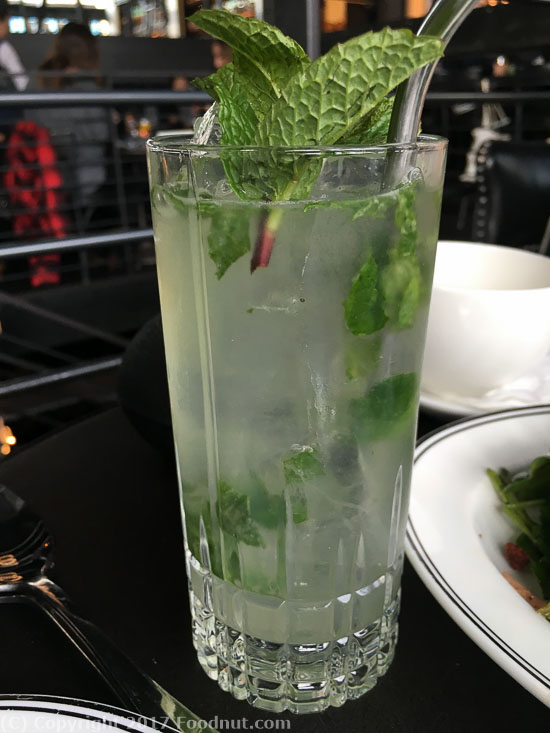 The Saratoga San Francisco mojito