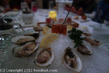 The Sea by Alexanders Steakhouse Oysters
