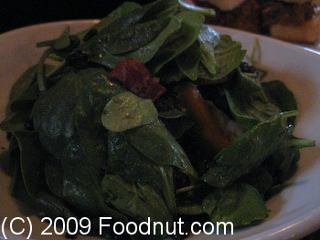 Tipsy Pig San Francisco Spinach Salad