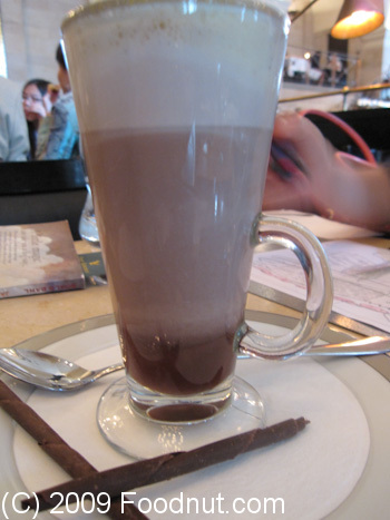 The Wolseley London UK Hot Chocolate Cream