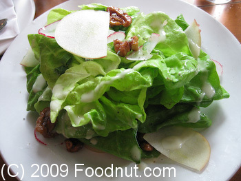 Town Hall San Francisco Butter Lettuce Salad