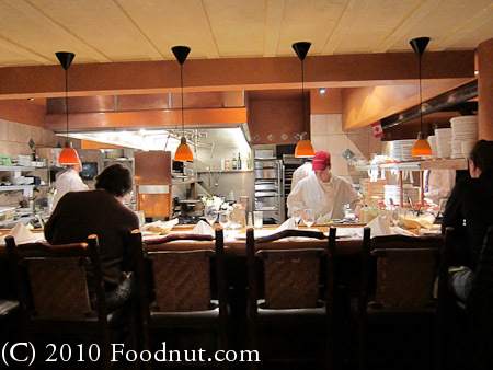 Trattoria Di Umberto Restaurant Whistler BC Canada Interior decor kitchen