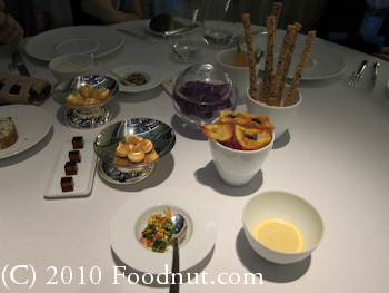 Twist by Pierre Gagnaire Las Vegas Canapes