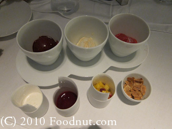 Twist by Pierre Gagnaire Las Vegas Fruits Ice Cream Sorbet Dessert