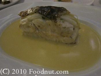 Twist by Pierre Gagnaire Las Vegas Turbot