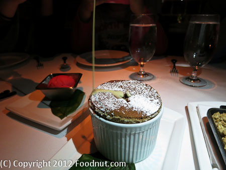 Village Pub Woodside Chocolate Souffle