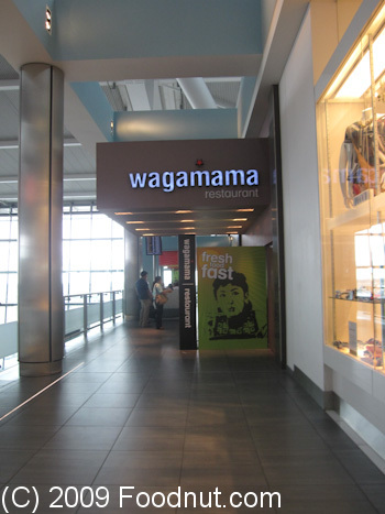 Wagamama London UK Exterior Decor
