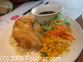 Wagamama London UK Grilled Chicken Noodle