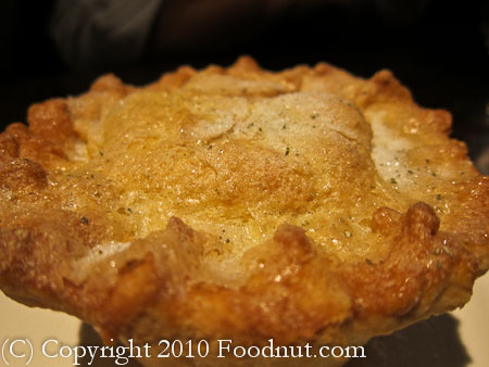 Wayfare Tavern San Francisco peach pie