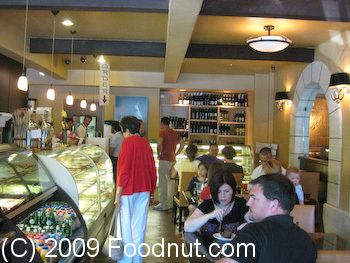 Woodside Bakery and Cafe Interior