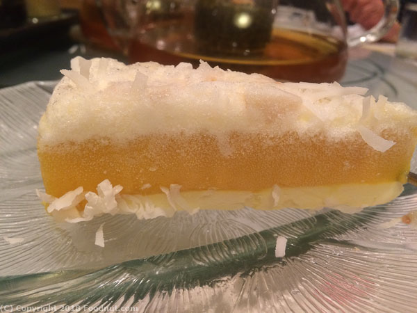 Yank Sing San Francisco mango ice cream pie