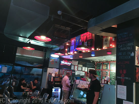 Yankee Lobster Eatery Boston Interior decor