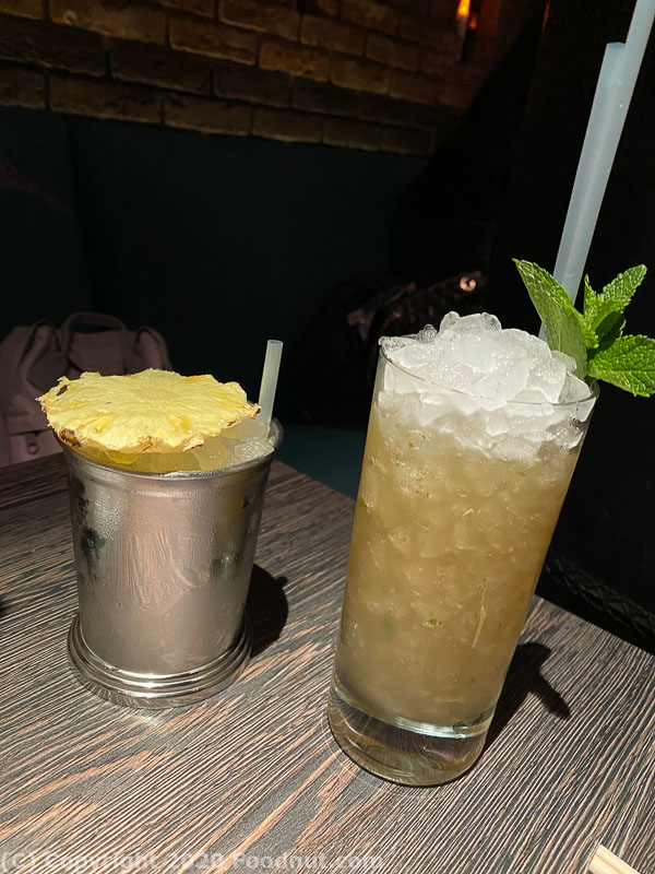 Yautcha London cocktails