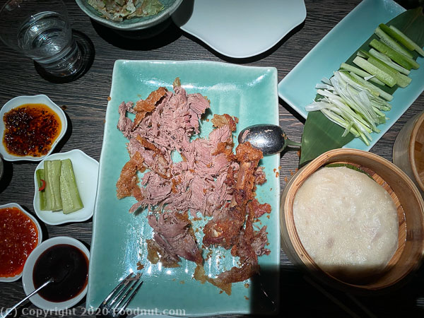 Yautcha London crispy aromatic duck