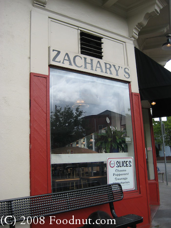 Zacharys Pizza Oakland 2
