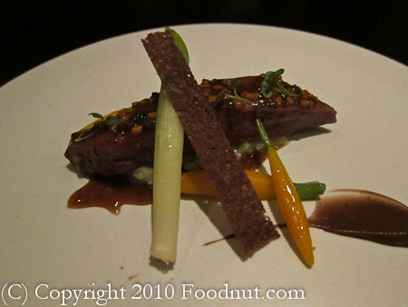 benu San Francisco duck breast