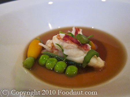 benu San Francisco lobster bouillon