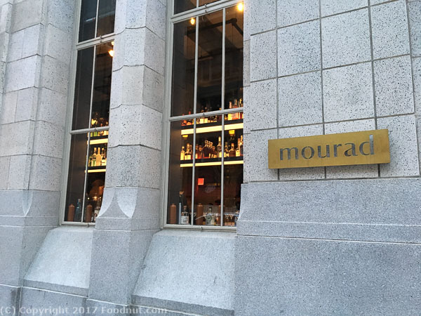 mourad San Francisco exterior decor